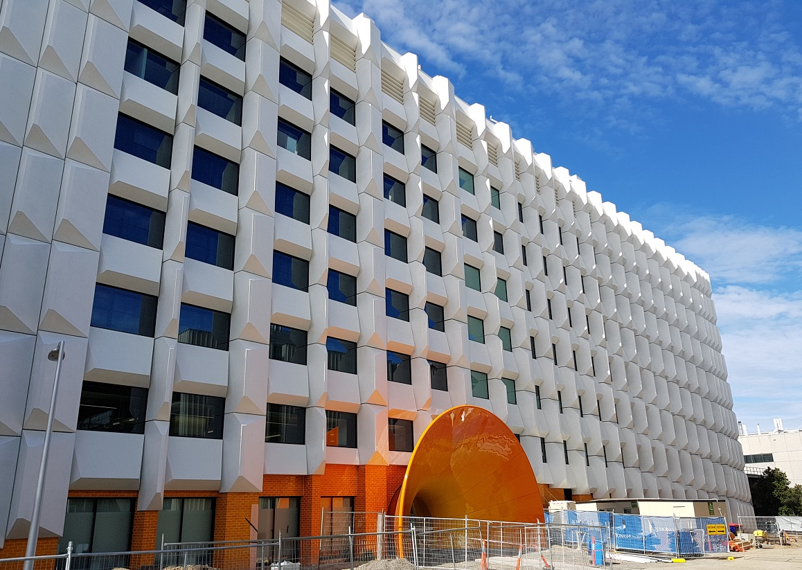 Monash Uni facade